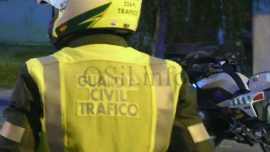 Photo of A Garda Civil de Tráfico de Verín auxilia a unha muller atrapada baixo unha árbore