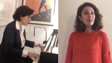Photo of Lucía Álvarez e Rosa Torres-Pardo renden tributo poético e musical a Carvalho Calero