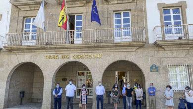 Photo of Minuto de silencio en Verín en memoria dos falecidos polo Covid-19