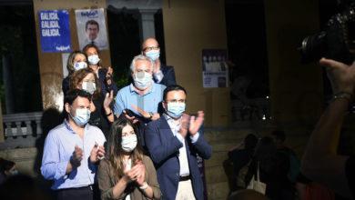 Photo of Inicio da campaña electoral do 12X na cidade de Ourense