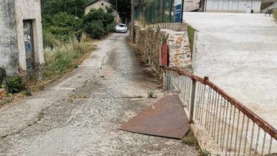 Photo of Comezan as obras de mellora na vía principal de Freixido de Abaixo (Petín)