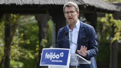 """Photo of Feijóo pide no Barco """"unha participación masiva para elixir o mellor para Galicia"""""""
