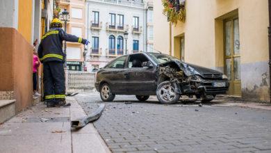 Photo of O accidente da rúa Doutor Pérez Lista do Barco, en imaxes