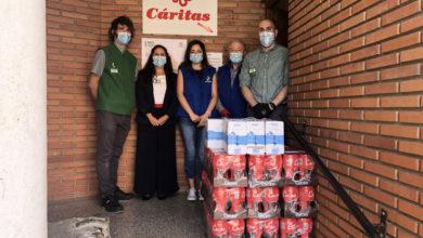 Photo of Cáritas do Barco recibe unha doazón de 1.400 quilos de produtos de primeira necesidade