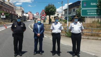 Photo of O subdelegado do Goberno en Ourense visita os postos de control fronteirizo en Verín-Feces de Abaixo