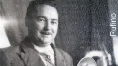 Photo of Rufino, cronista fotográfico da Valdeorras da posguerra