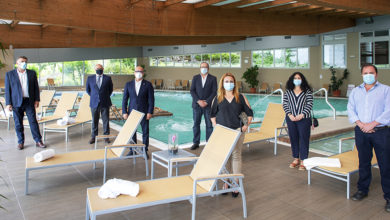 """Photo of Representantes dos balnearios reúnense co presidente da Deputación para planificar a estratexia """"Ourense, destino termal seguro"""""""