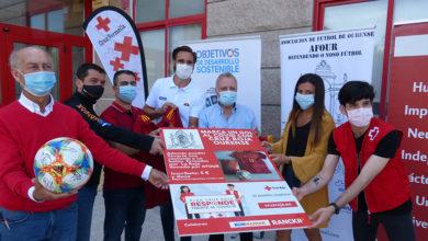 """Photo of AFOU presenta o reto solidario """"Marca un Gol al Covid"""" a beneficio de Cruz Vermella Ourense"""
