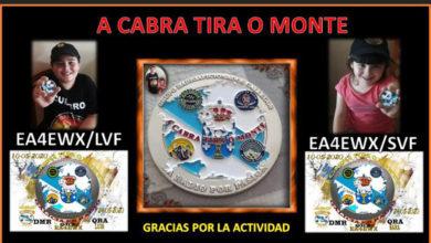 """Photo of O concurso de radioafeccionados """"A Cabra tira ao monte"""" xa ten ganadores"""
