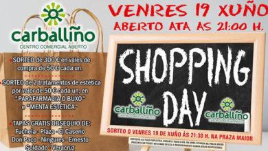 Photo of Carballiño celebrará o Shopping Day con algún cambio