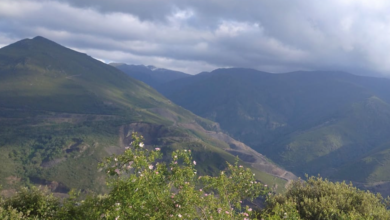 Photo of A neve volve a Trevinca en xuño
