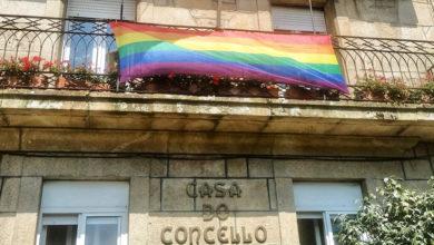 Photo of A bandeira multicor ondea no Concello de Trives