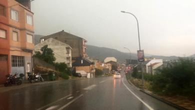Photo of A tormenta tamén se deixa sentir en Larouco e na Rúa