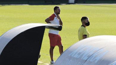 """Photo of Manolo Pérez: """"Fomos capaces de ter paixón, pero non foi suficiente para recortar distancias"""""""