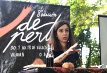 "Photo of Os versos de Tamara Andrés abren o ""8º De Perto"", no Barco"