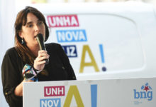 """Photo of María G. Albert: """"Que conten con alguén de Valdeorras a esa altura da candidatura reflicte que hai interese pola zona"""""""