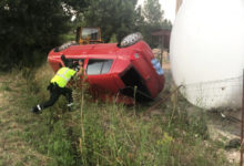 Photo of Tres persoas resultan feridas nun accidente de tráfico en Rubiá