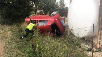 Photo of Tres persoas resultan feridas nun accidente de tráfico en Rubiá