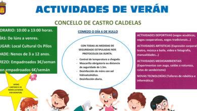Photo of Castro Caldelas despregará un amplo abano de actividades infantís neste verán