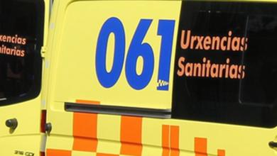 Photo of Dous feridos tras un accidente entre un camión e un turismo na Gudiña