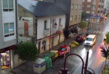 Photo of Unha forte tormenta con pedra descarga no Barco