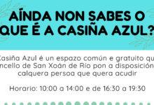 Photo of A Casiña Azul, unha singular iniciativa de dinamización cultural en Río