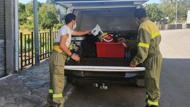 Photo of A brigada de incendios de Manzaneda, a primeira en funcionar no Distrito XIII