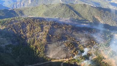 Photo of Extinguido o lume de Pardollán (Rubiá), que afectaba a 41,35 hectáreas
