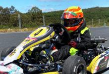 Photo of O piloto barquense alevín Leo Pérez volve á competición galega de karting