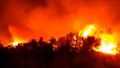 Photo of O incendio de Flariz (Monterrei), con 450 hectáreas queimadas, o maior no que vai verán