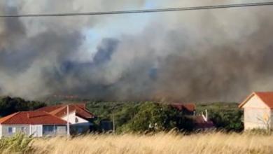 Photo of Declarada a situación 2 no incendio de Flariz (Monterrei) pola súa cercanía á localidade de Salgueira