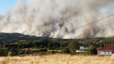Photo of O incendio de Flariz (Monterrei) leva 60 hectáreas queimadas