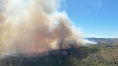 Photo of Extinguidos o incendios de Vilardemilo (Viana) e Queirugás (Verín), mentres segue activo o de Monterrei