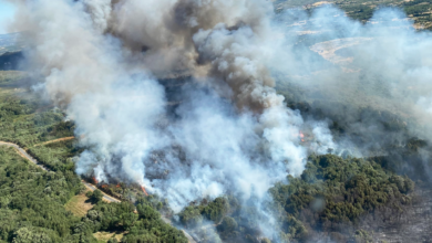Photo of Estabilizado o incendio de Flariz (Monterrei), tras queimar 720 hectáreas