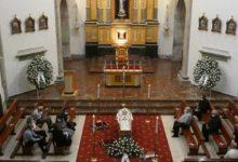 Photo of A Catedral de Astorga acolle o funeral do bispo emérito, Camilo Lorenzo Iglesias