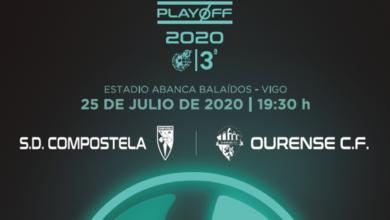 Photo of A final do play off de ascenso a Segunda B entre o Ourense CF e a SD Compostela xogarase a porta pechada