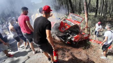 Photo of Accidente do ourensán Emilio Vázquez no TC4 do Rallye de Ourense