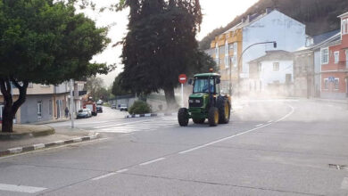 Photo of Un tractor con pulverizador desinfectará as rúas de Quiroga