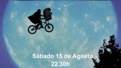 """Photo of """"E.T."""" proxectaráse este sábado, 15 de agosto, no autocine da Rúa"""
