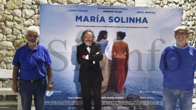 """Photo of Lubián (Zamora) acolle a proxección de """"María Solinha"""", do director valdeorrés Ignacio Vilar"""