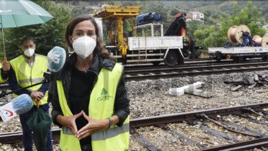 Photo of Hoxe restablecerase o tráfico ferroviario no tramo Sobradelo-Quereño