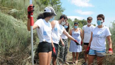 Photo of O campo de voluntariado de Vilariño de Conso recibe a visita da directora xeral de Xuventude, Cristina Pichel
