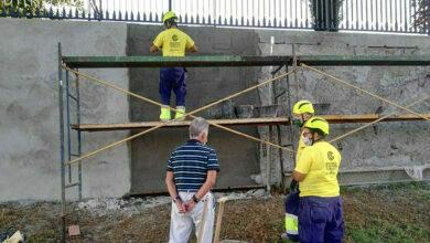 Photo of Obras de mellora no entorno do albergue municipal de Quiroga