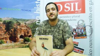 """Photo of Feliciano Fernández: """"Bennu é un libro sobre unha persoa normal, pero escrito dunha forma moi propia"""""""
