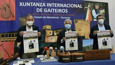 Photo of XXXV Xuntanza Internacional de Gaiteiros o sábado 29 de agosto en Monterrei