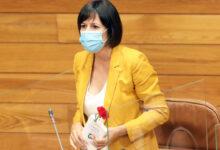 Photo of Saúdo especial de Ana Pontón para a ruesa María Albert, ausente na sesión parlamentaria
