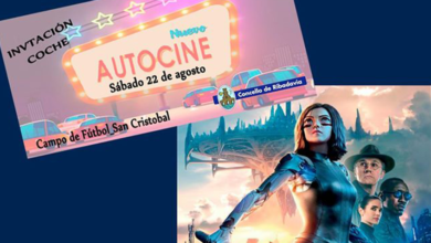 "Photo of Ribadavia proxectará ""Alita: Battle Angel"" no autocine"