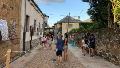 Photo of O casco antigo de Petín acolle unha exposición de arte ao aire libre