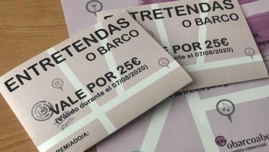 """Photo of O CCA do Barco sortea dous vales de 25 euros para a investir en """"Entretendas"""""""