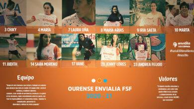 Photo of O Ourense Envialia FSF compón o seu equipo para a vindeira tempada